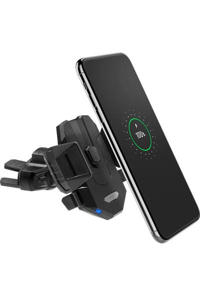Spigen Kuel Qi 10W Hızlı Kablosuz Şarjlı CD Slot Araç Tutucu (Universal) + 18W Hızlı Araç Şarjı X35W - 000CP25520
