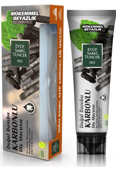 Eyüp Sabri Tuncer Doğal Aktif Bambu Karbonlu Diş Macunu 75 ml