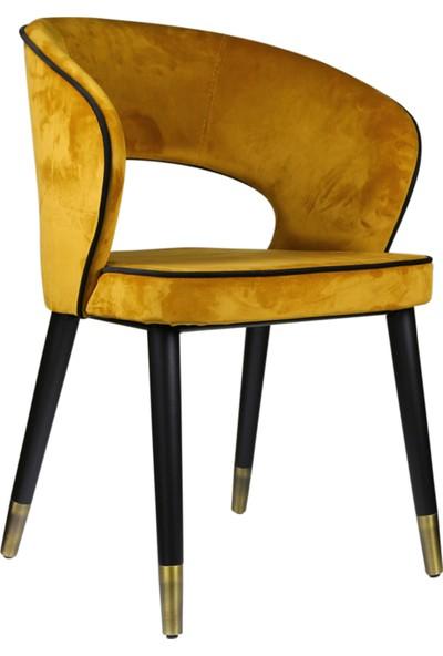 Sandalye Online Luna Ahşap Ayaklı Sandalye