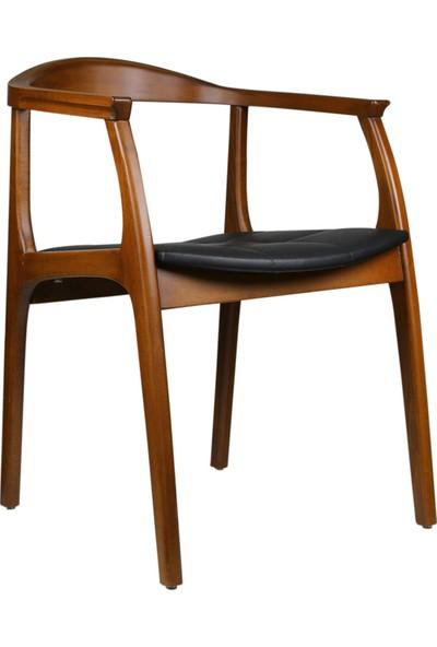 Sandalye Online Bull Kolçaklı Ahşap Sandalye