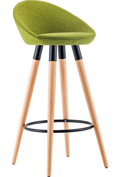 Sandalye Online Rena Ahşap Bar Sandalyesi