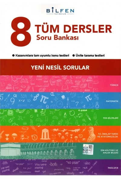 Bilfen Yayıncılık 8. Sınıf Tüm Dersler Soru Bankası