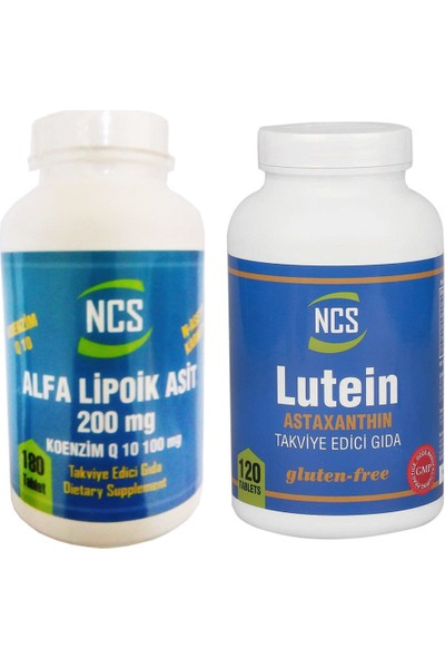 Ncs 2'li Set Alpha Lipoic Acid + Lutein Astaksantin
