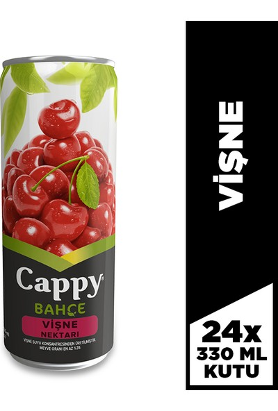 Cappy Vişne 330 Ml, 24'lü Paket