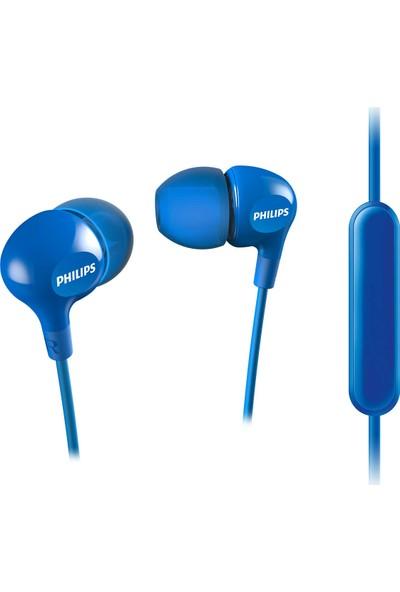 Philips SHE3555BL Mikrofonlu Kulakiçi Kulaklık Mavi