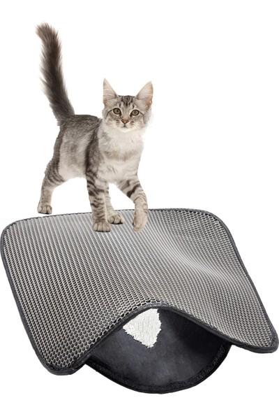 Petimister Elekli Kedi Tuvalet Önü Paspası 60 x 45 Cm