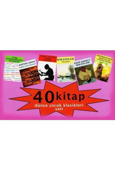 Dünya Çocuk Klasikleri Seti (40 Kitap)