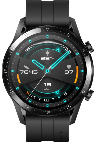 Huawei Watch GT2 46mm Sport Akıllı Saat - Siyah