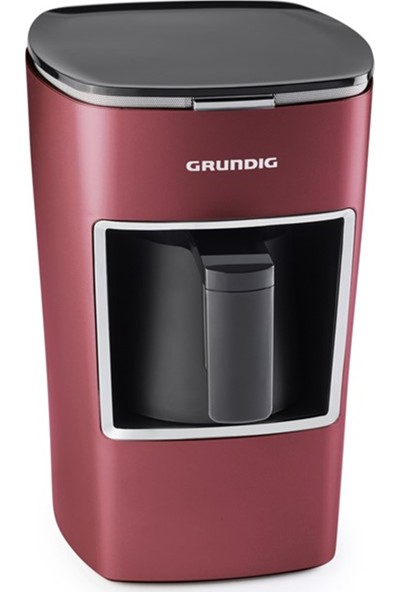 Grundig TKM TCM 7610 R Red Brown Kahve Makinesi