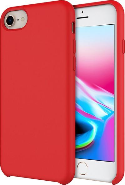 Buff iPhone 8/7 Rubber Fit Kılıf Red
