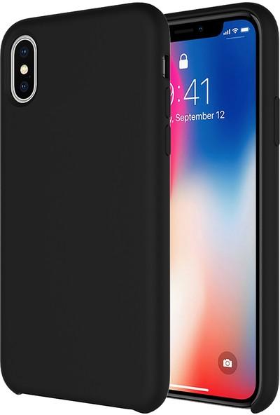 Buff iPhone Xs/X Rubber Fit Kılıf Black