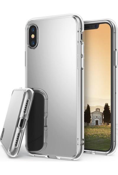 Ringke® Apple iPhone X/XS Mirror Fusion Kılıf Silver