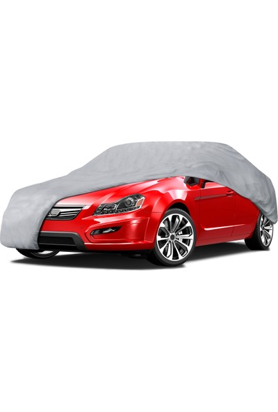 CarStore Honda Civic Hb Araç Brandası Oto Branda - Gri (2007 2011)