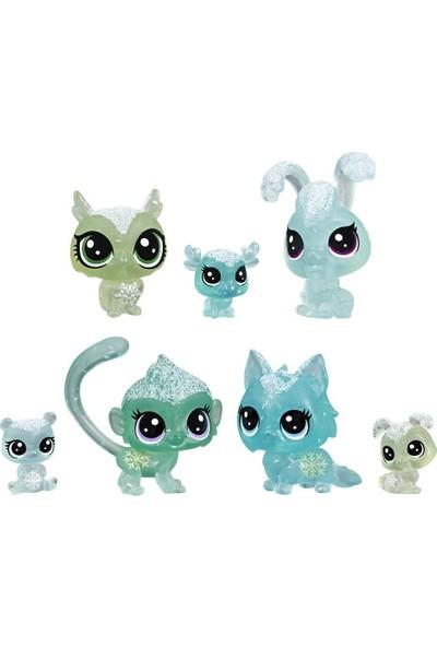 Hasbro Littlest Pet Shop Buzul Miniş Koleksiyonu Arkadaş Minişler – Yeşil E5483-E5490