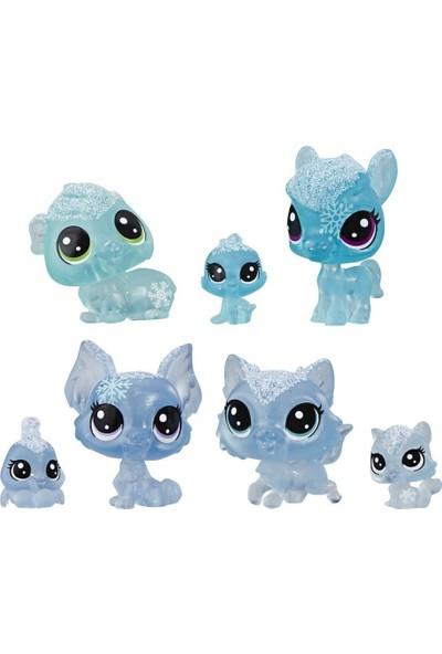 Hasbro Littlest Pet Shop Buzul Miniş Koleksiyonu Arkadaş Minişler – Mavi E5483-E5491