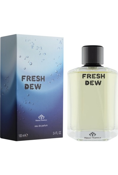 Miriam Marvels Fresh Dew Edp 100 ml Erkek Parfüm
