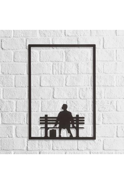 Dekkor Art Dekkorart Forrest Gump Metal Duvar Tablosu 42 x 60 cm