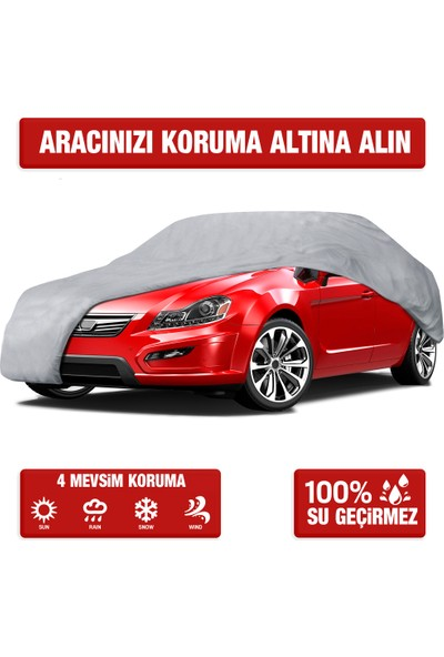 CarStore Toyota Rav4 Araç Brandası Oto Branda - Gri