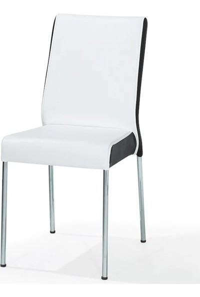 Kaykolsan Deri Metal Ayaklı Sandalyesi Bm-9