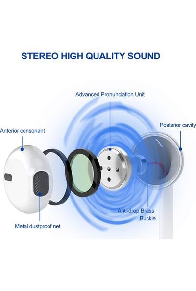 WOOSIC B900 Metalik Kablolu Kulakiçi Kulaklık