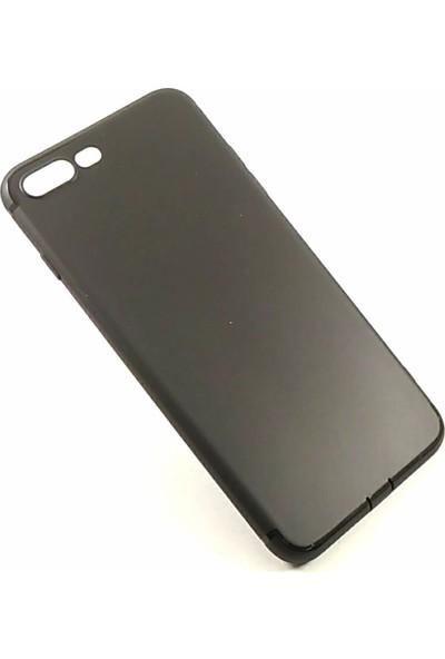 Arma Apple iPhone 8 Plus Kılıf Toz Tıpalı Kılıf - Siyah