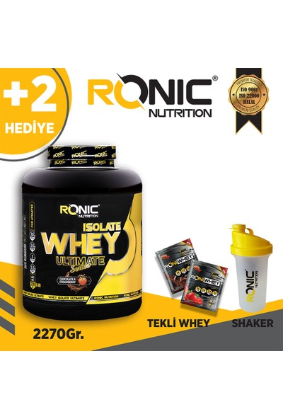 Ronic Nutrition Whey 2270GR Isolate Protein Tozu