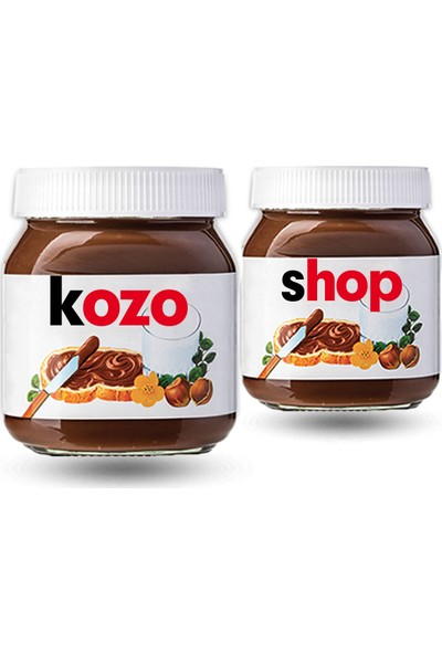 Nutella Isme Özel Nutella 2 Adet 750GR