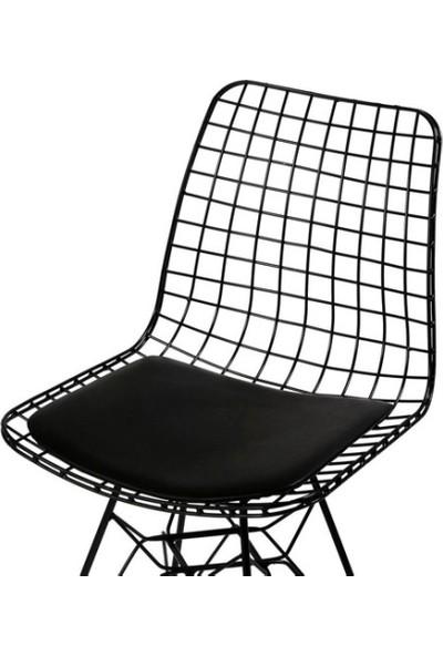 Yelken Mobilya Tel Sandalye 6'lı