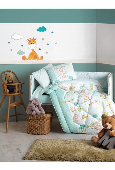 Cotton Box Bebek Uyku Seti Zürafa Yeşil