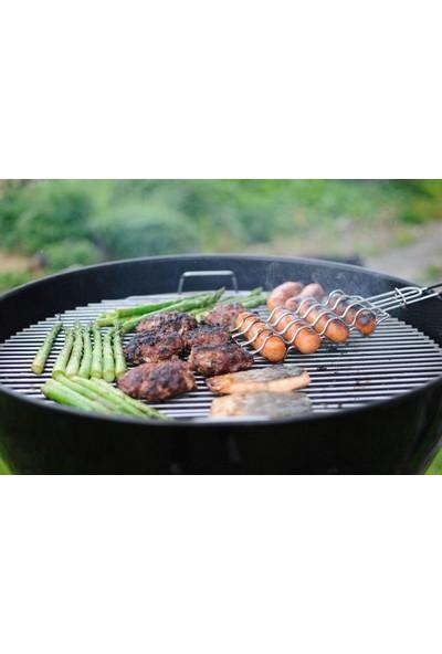 Mutfak Sepeti Çelik Sosis Barbekü Izgarası