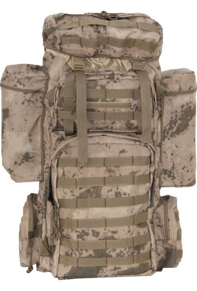 Vogel Tactical Jandarma Kamuflaj 100+10 Litre Operasyon Çantası