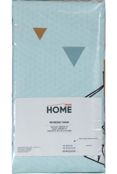 Hepsi Home by Zorluteks Çift Kişilik Nevresim Takımı - Çilek