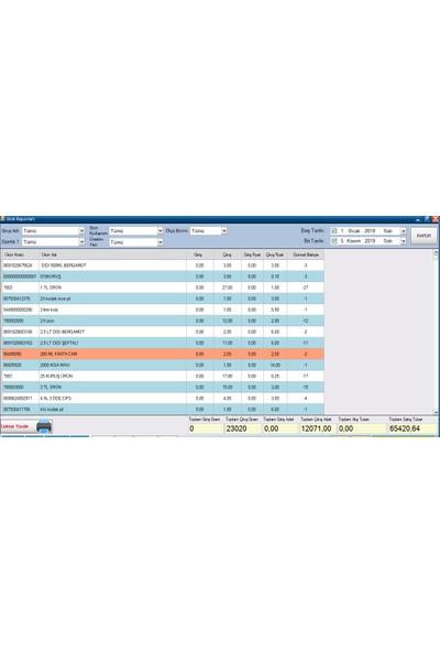 Uht Bilişim Barkodlu Tekel Büfe Satış Programı (Temel Paket)