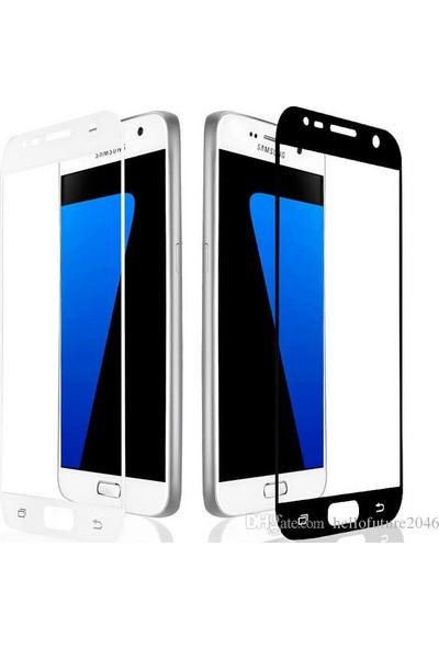 Fulltech Apple iPhone 6 Temperli Kırılmaz Tam Kaplayan Ekran Koruyucu Cam Siyah