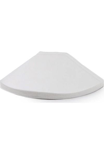 Rubin Büyük Boy 4 Numara Kahve Filtresi Beyaz Kağıt 300 Adet