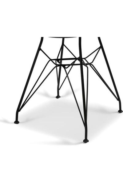 Ak Sandalye Tel Sandalye 4'lü