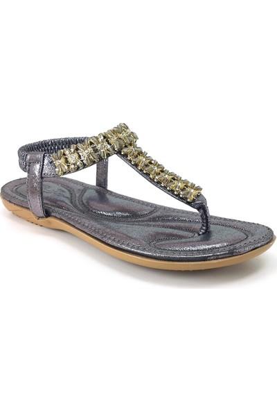 Guja 204-23 Günlük Kadın Sandalet Gri