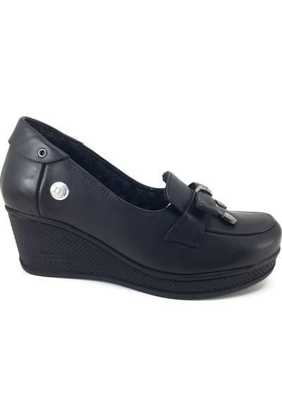 Mammamia 45 Günlük Kadın Ayakkabı Siyah