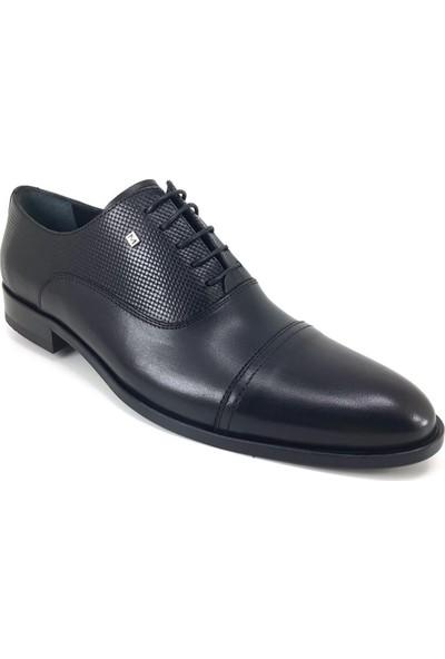 Marcomen 2053 Günlük Kösele Erkek Ayakkabı Siyah