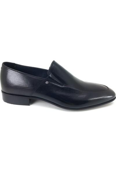 Oskar 2212 Günlük Kösele Erkek Ayakkabı Siyah