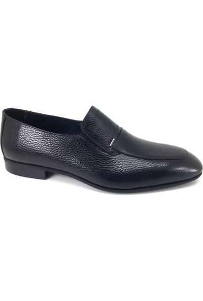 Oskar 2301 Günlük Kösele Erkek Ayakkabı Siyah