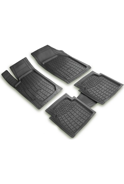 arabaMaraba Seat Ibiza 2011 Sonrası 3D Havuzlu Oto Paspas Seti Siyah