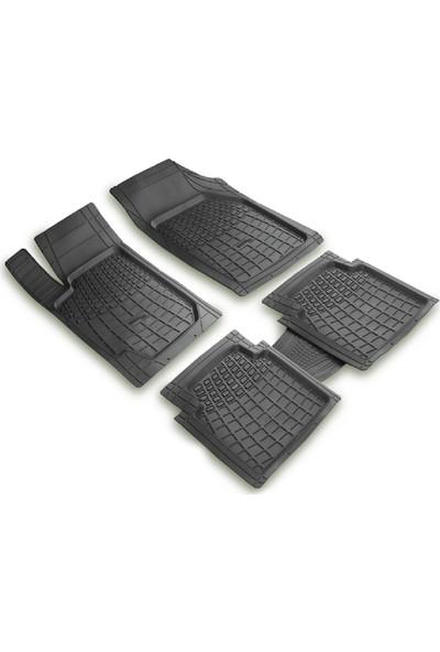 arabaMaraba Nissan Micra 2000 2002 Arası 3D Havuzlu Oto Paspas Seti Siyah