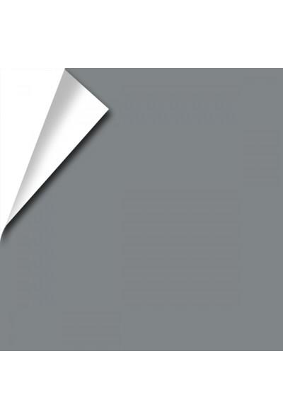 Temiz Folyo Kendinden Yapışkanlı Gri Metalik Folyo 122 cm x 1 m