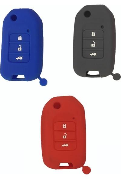 Honda Cıvıc Fc5 Elegance Silikon Anahtar Kumanda Kılıfı Kabı