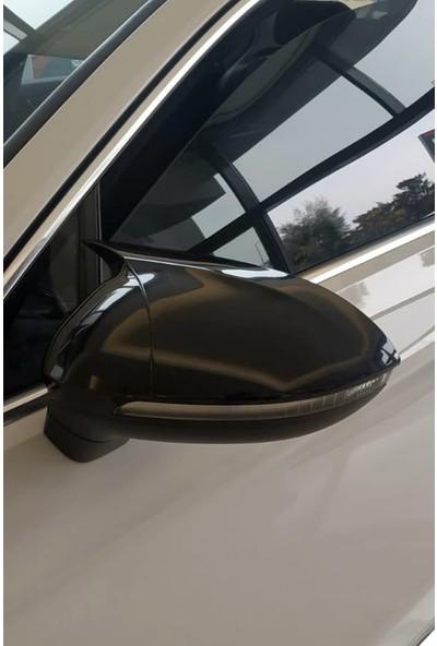 Volkswagen Passat B8 Batman Yarasa Tip Ayna Kapağı Piano Black