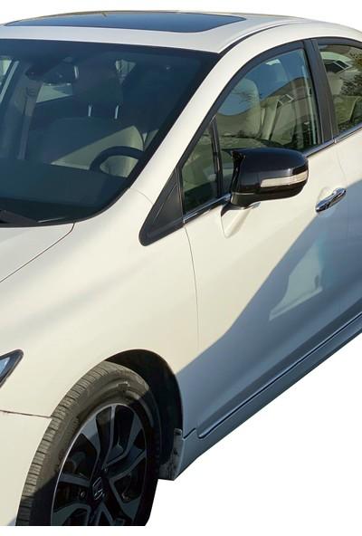 Honda Cıvıc Fb7 Batman Yarasa Tip Ayna Kapağı Piano Black