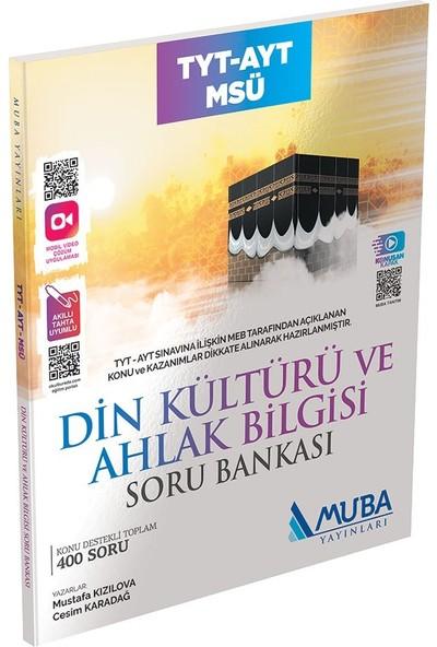 Muba Yayınları TYT - AYT-Msü Din Kültürü ve Ahlak Bilgisi Soru Bankası