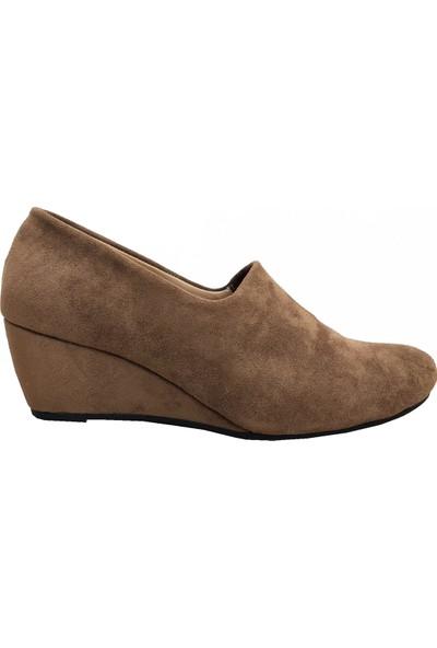 Demirtaş 2521 Dolgu Topuklu Kadın Ayakkabı