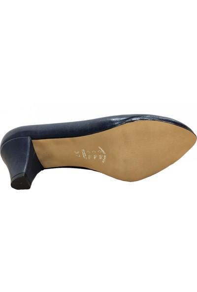 Gizem 466 Deri Stiletto Kadın Ayakkabı